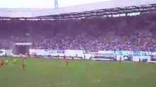 Hansa - Unterhaching das 2:0 aus Süd - Aufstieg perfekt