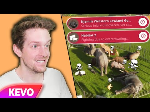 Planet Zoo but I take cruelty to a new level |