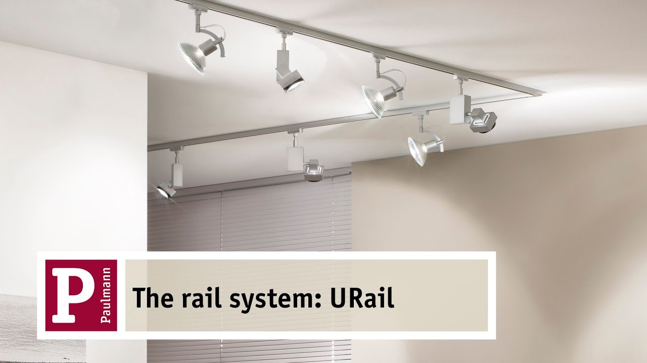 Plafonnier Encastrable Led Leroy Merlin Urail, The Flexible 230v Rail System From Paulmann - Youtube
