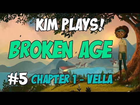 Kim Plays! Broken Age: Chapter 1 - Vella #5 - To Shellmound!