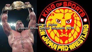 Caos en Japón: Cuando Brock Lesnar conquistó NJPW | Mr. WWE