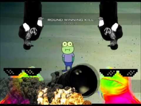 MLG HOOPLA (Spongebob goes MLG) MAD SKILLZ M9 - YouTube