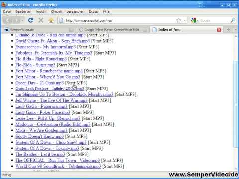 Google Inline Player