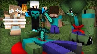 Monster School : Zombie Sad Life 13 - Minecraft Animation