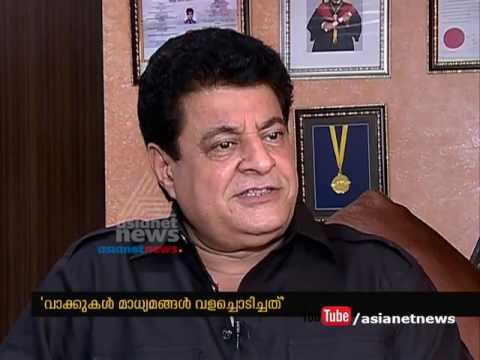 Gajendra Chauhan denied his statement on FTII regional centre in Kochi