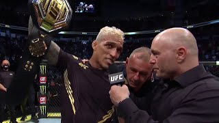 UFC 262: Charles Oliveira Octagon Interview