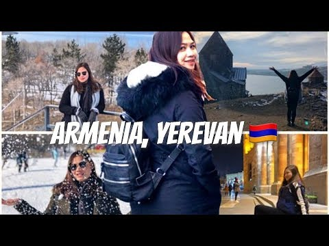 ARMENIA 2018 | Travel Vlog #1 (part 1) | Alou Gallardo | Wonders and Wanders by Tatiana Louise