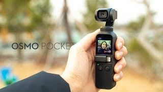 DJI 오즈모 Pocket | 첫인상 - 고프로 킬러?…