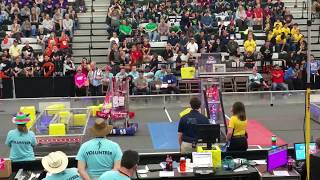 2018 FRC Power Up 5417 Allen Houston Lonestar Central Regional Week 3 Qm-#33 qm#33 #2018txho