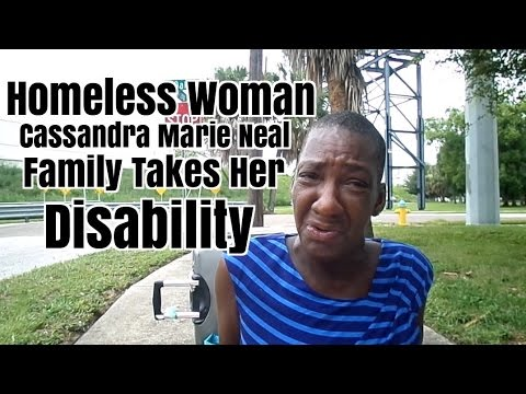 Homeless Tampa Woman's Family Takes Her Disability