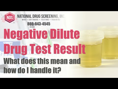 How to pass a urine test in 2 hours