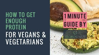 Download Video Vegan/Vegetarians: Are You Getting Enough Protein? 1 MINUTE GUIDE by GuavaPass MP3 3GP MP4