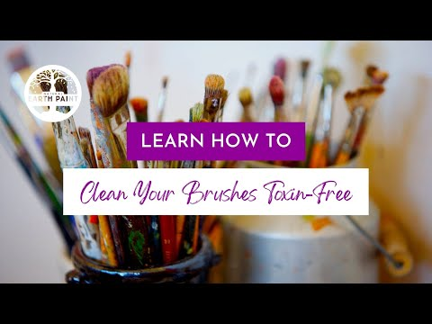 How To Clean Oil Paint Brushes Without Toxins Or Solvents