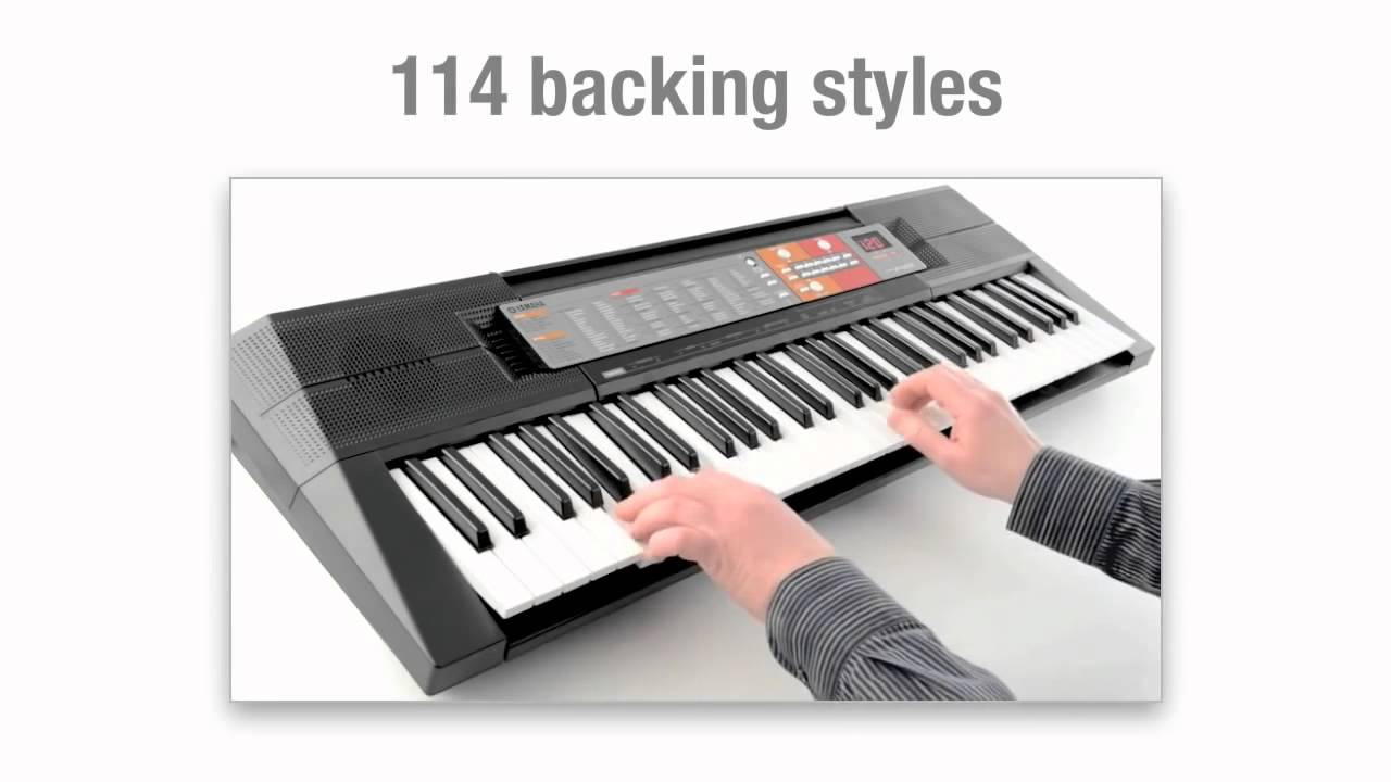 Yamaha psr f50 portable home keyboard introduction youtube for Yamaha credit application