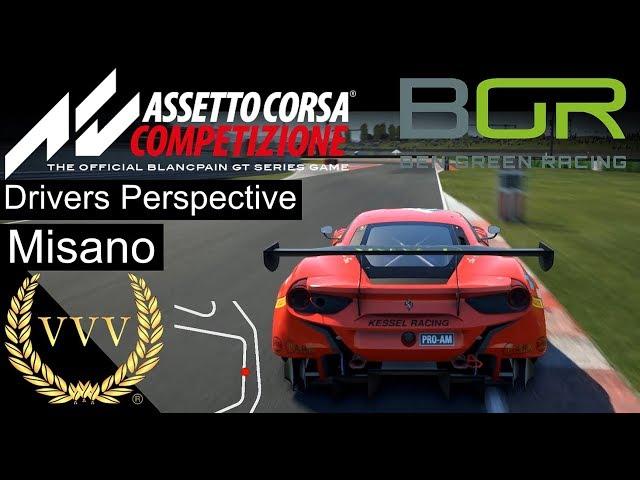 Assetto Corsa Competizione - Ben Green, Misano Notes