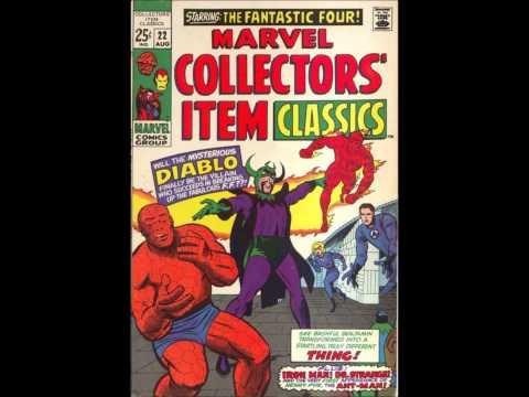 #68 Comic Reflections 1.5.14 Karate Kid LSH Kong Fantastic Four Iron Man Dr Strange