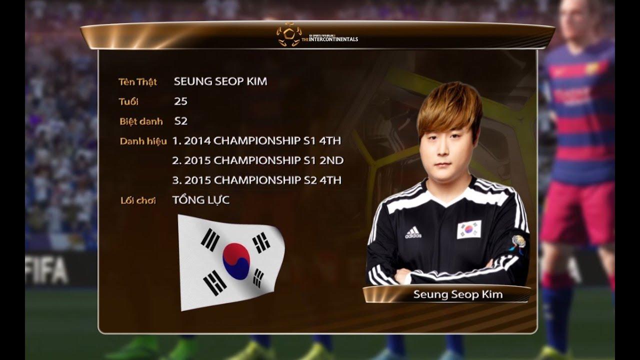 Hồ sơ tuyển thủ: Seung Seop Kim - Korea [ The Intercontinentals 2016 ] -  YouTube