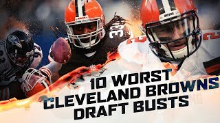10 BIGGEST Draft Busts In Cleveland Browns History