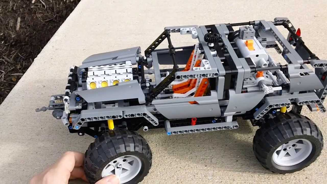 hd lego technic 8297 off roader review youtube