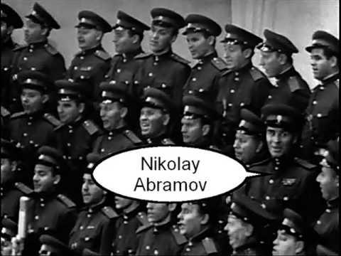 Eisen and Abramov sing Black Raven (1956) London
