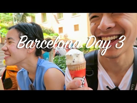 Day trip to MONTSERRAT! | Barcelona Vlog Day 3 | It's That T