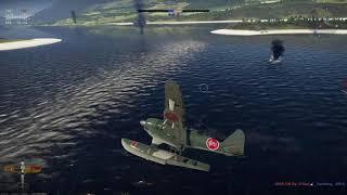 War Thunder [PC] Затащил корабельный бой на самолете