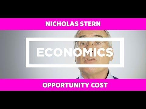 ECONOMICS: Opportunity Cost - Nicholas Stern