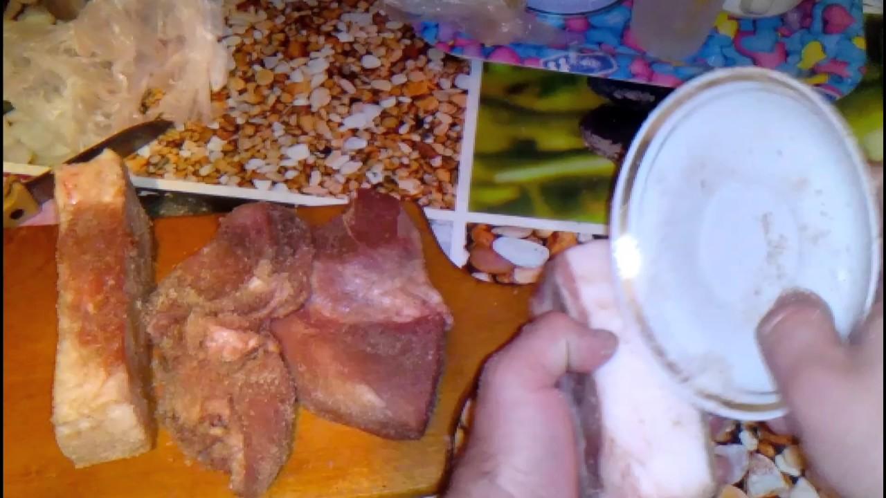 рецепты засолки мяса.сала для хлодного копчения