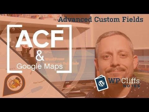 WordPress acf google map