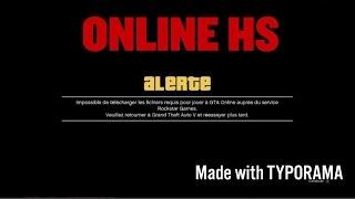 IMPOSSIBLE DE JOUER A GTA 5 ONLINE ?! (PS4, XBOX ONE,PC)