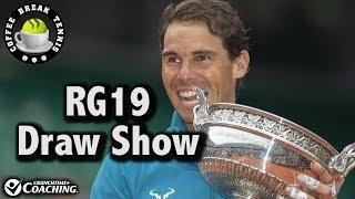 Roland Garros 2019 DRAW SHOW   Coffee Break Tennis