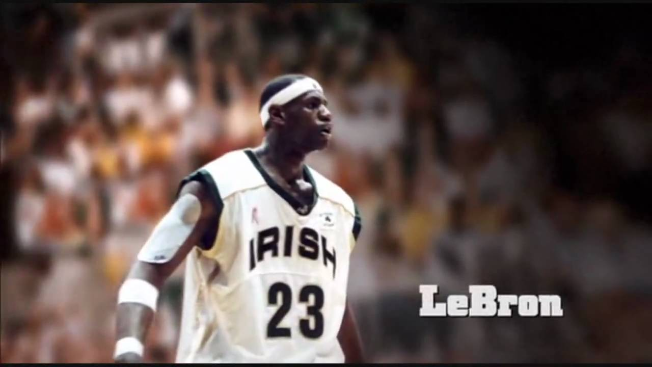 a48ccaebe60 LA Lakers Lebron James got his start with the Fighting Irish | IrishCentral. com