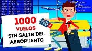 Mas de 1 000 vuelos sin salir nunca del aeropuerto