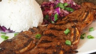 Korean BBQ Beef Short Ribs Recipe (Kalbi)