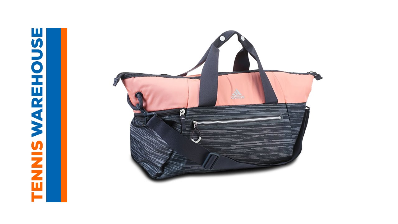 adidas Studio Duffel Bag - YouTube 7829cc9e6da9