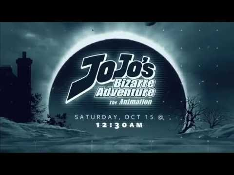 [adult swim] TOONAMI: JoJo's Bizarre Adventure Promo [HD] (10/1/16)