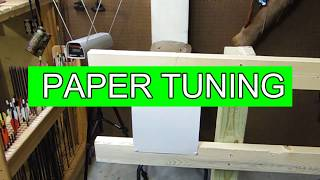 Bow Tuning Part 2 Paper Tune