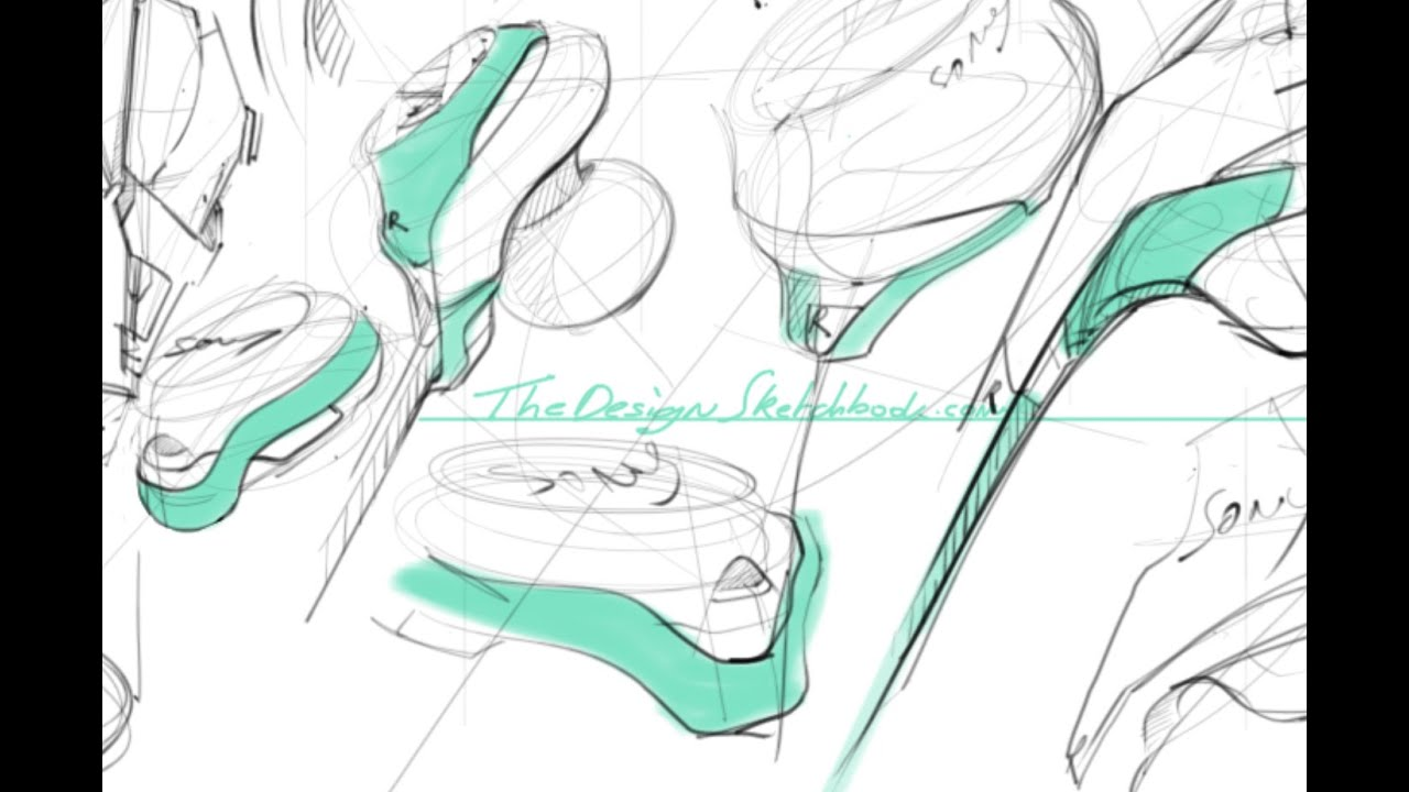 industrial design sketches.  Design Sketching Sony Earphone With Sketchbook Pro On Wacom Cintiq 22HD  Industrial  Design On Sketches
