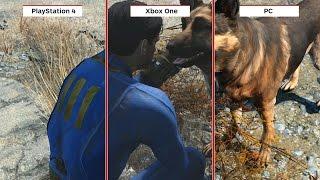 Fallout 4 Graphics Comparison PC vs PS4 vs Xbox One