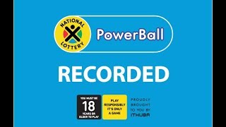 Powerball est. jackpot r21million and plus r5.5million. players must be 18 years or older, play responsibly.for more info visit www.na...