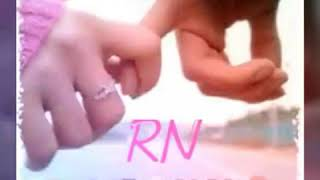 New Letter RN Whatsapp Status Video Sad RN Status Mere dil ki Sun le pookar mix video.