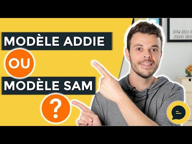 Modèle ADDIE, Modèle SAM : les différences