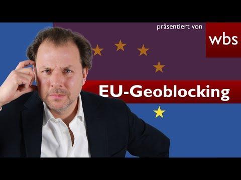 Geoblocking-Verordnung – EU-weit shoppen, wo ihr wollt? | Rechtsanwalt Christian Solmecke