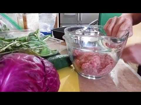 HCG Phase 2 Food Prep, Hamburger Patties