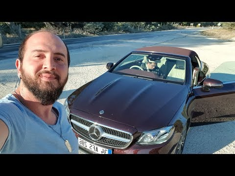 Sürücüsüz takılan Mercedes'leri denedik! - Mercedes E300 Cabriolet vLog!