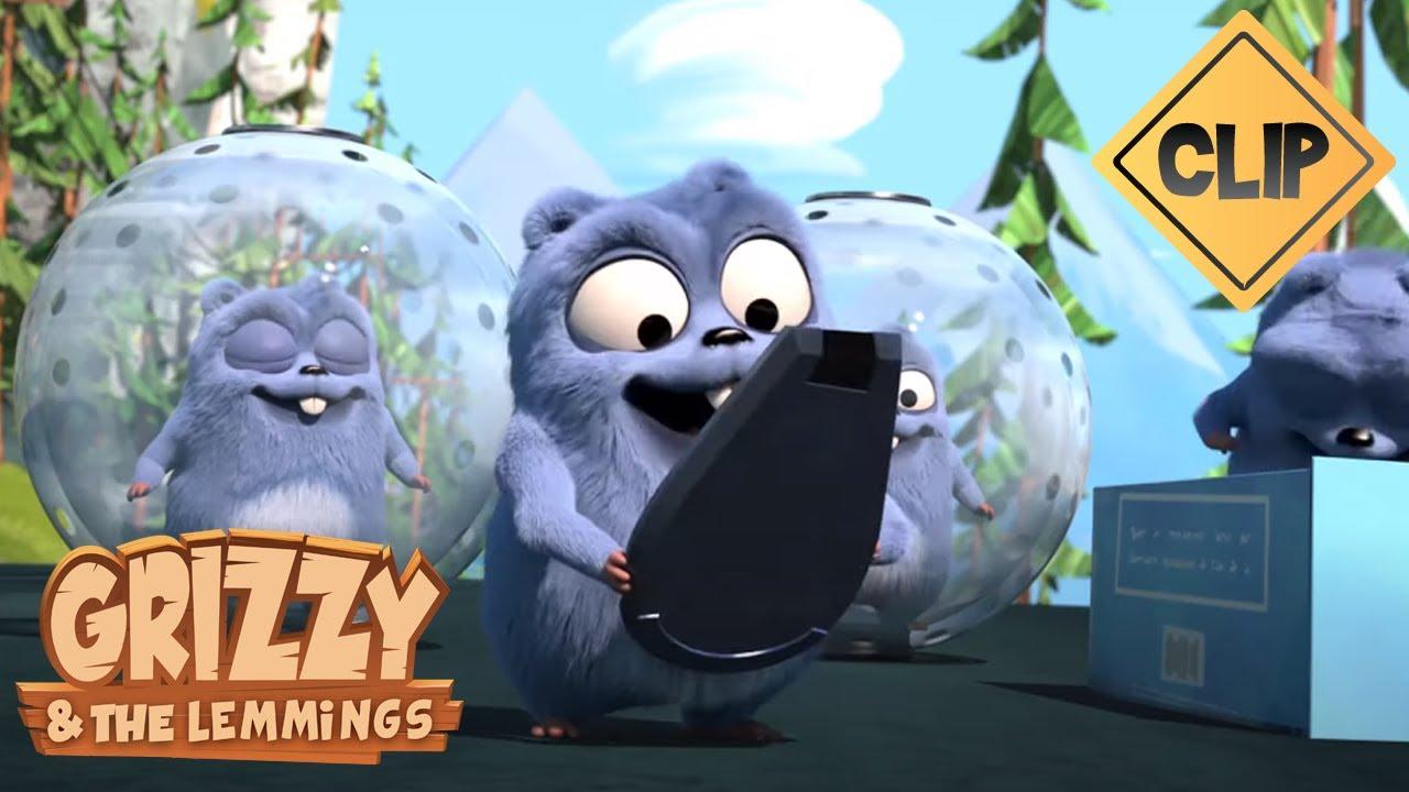 Download Grizzy et les Lemmings coincés dans des bulles  - Grizzy & les Lemmings