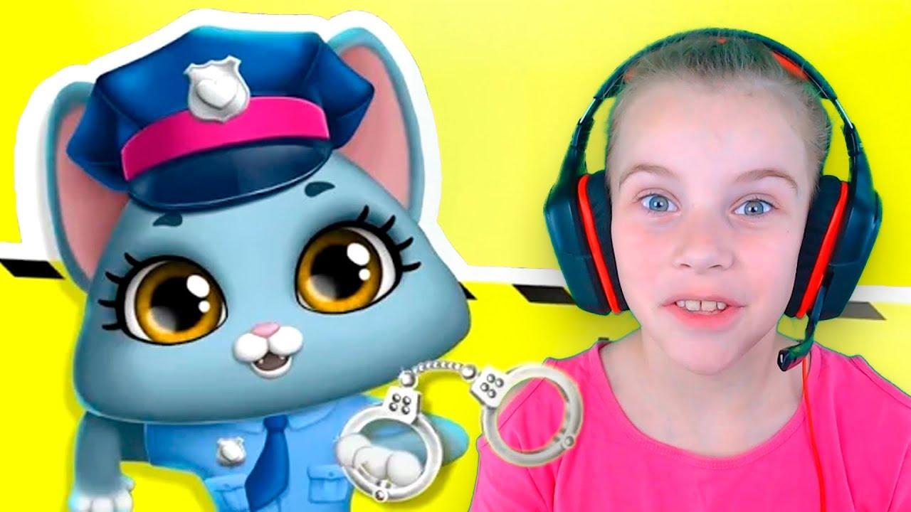 КОТЫ СУПЕРГЕРОИ 2 спасут домашних животных Веселое видео для детей про котят