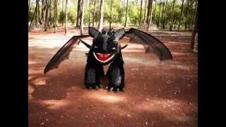 Dragon chimuelo (toothless) pruebas