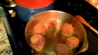 Emmanuel's Homemade Italian Meatballs And Stuffed Bell Peppers Step By Step Instruction Video 4