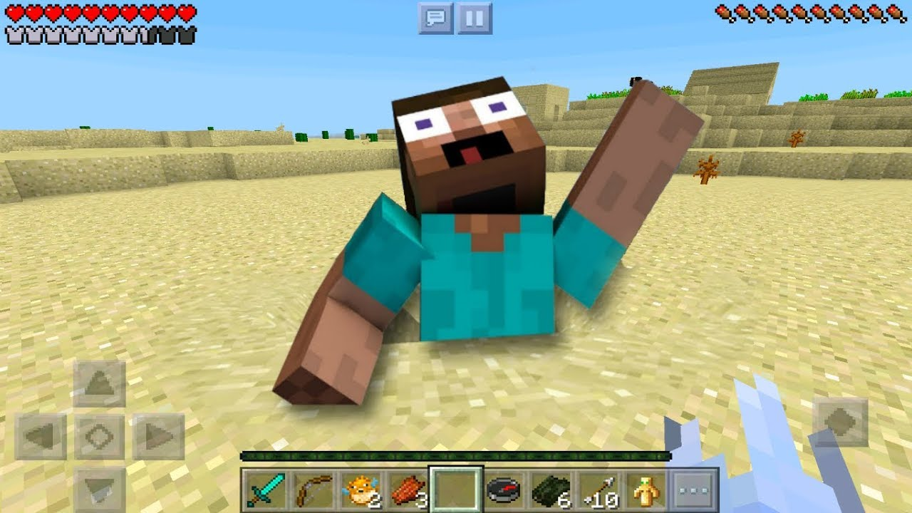 Minecraft Pe How To Make QUICKSAND - QUICKSAND TRAP in MCPE NO MOD AND  REDSTONE!!!